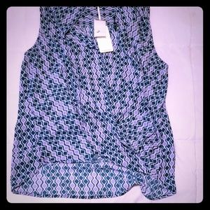 New with tags sleeveless blouse